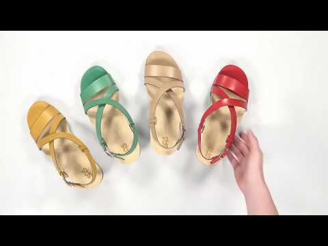 Video for Nouveau Cross Strap Heel Sandal this will open in a new window