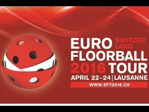 EFT 2016 (Men) - CZE v SWE