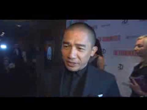 Tony Leung: The Grandmaster NY Premiere Red Carpet Interview