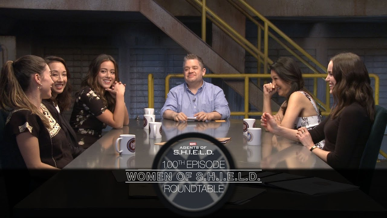 Women of S H I E L D  Roundtable - Marvel's Agents of S H I E L D  100