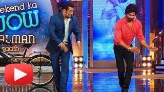 Salman Khan And Shahid Kapoor Dance On Bigg Boss 7 - Weekend Ka Wow