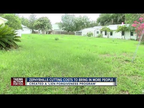 Zephyrhills is trying to turn vacant lots into a thriving community