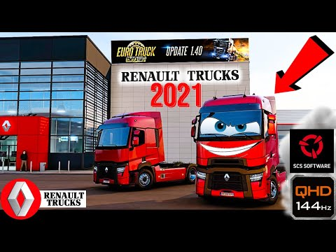 OFFICIAL NEW RENAULT TRUCKS T High Evolution 2021 ETS2 1.40