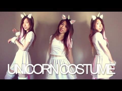 diy unicorn halloween costume