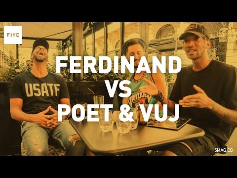 Poet & Vuj Vs Rio Ferdinand | TALKIN' TWO TOUCH