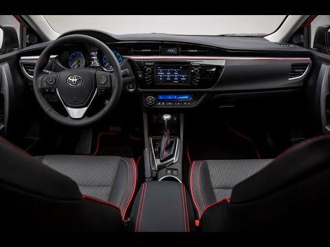 2016 Toyota Corolla Interior Youtube