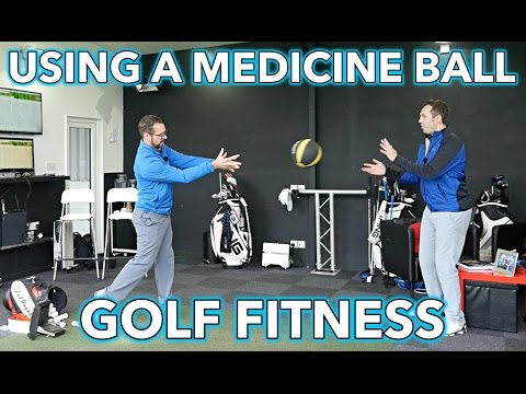 Three Medicine Exercises For Golf