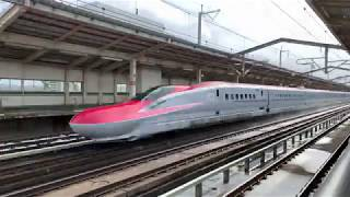 #4K60p #東北新幹線 320km/h区間#高速通過集 #新白河駅 #2019年1月26日
