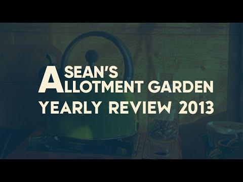 Sean's Allotment Garden 2013