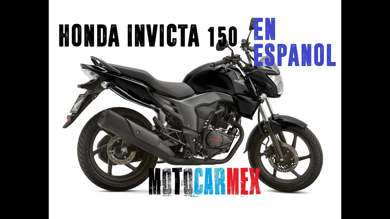 Honda Cb 150 Invicta 2016  Test  Sonido  Precio  Caracter U00edsticas Review  Analisis