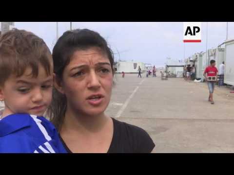 UN's Grandi visits Athens refugee camp