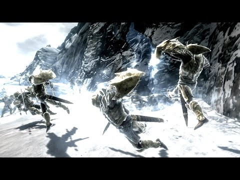 Skyrim Battles - 50 Redoran Guards vs Karstaag [Legendary Settings]