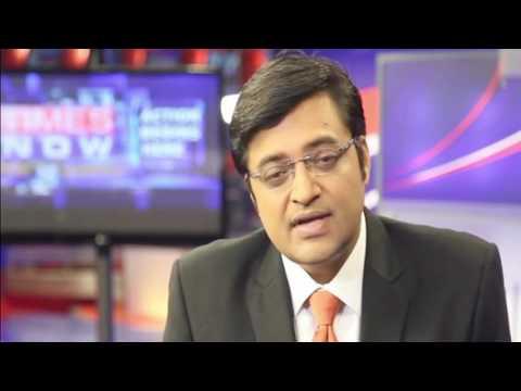 Arnab Goswami - shocking: junaid mattoo walks off from arnab goswami's debate