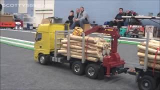 Rc Trucks @ Leyland FEBRUARY 2016 Tamiya 1/14 Wedico Carson Bruder scaleART