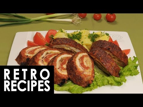 Ground Meat Rolls | Retro Recipes