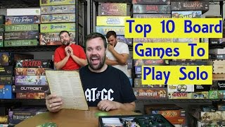 Top 10 Board Games to Play Solo