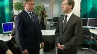 Видеоблог президента Д.Медведева.19.06.09.Part 19 - Video blog