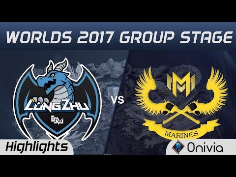LZ vs GAM Highlights World Championship 2017 Group Stage Longzhu Gaming vs Gigabyte Marines by Onivi