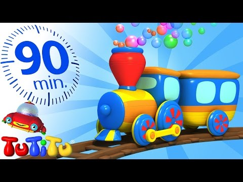 TuTiTu Specials | Train | And Other Popular Toys for Children | 90 Minutes!
