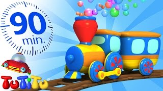 Repeat youtube video TuTiTu Specials | Train | And Other Popular Toys for Children | 90 Minutes!