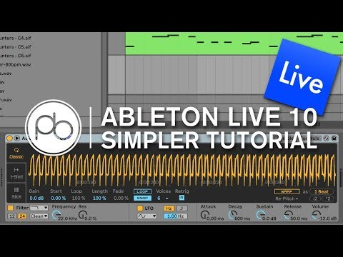 Turn any Sound into an Instrument with Simpler (Ableton Live 10)