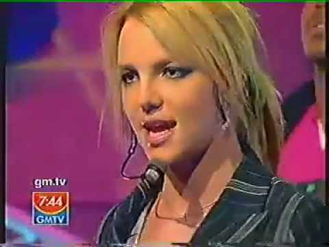 Britney Spears Me Against the Music  2003 GMTV