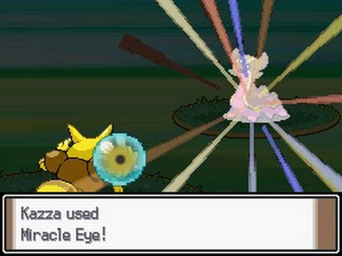 Pokemon Attack Showcase: Support/Targeting Moves