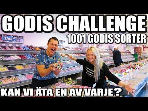 GODIS CHALLENGE 1001 GODIS SORTER *KAN VI ÄTA EN AV VARJE*