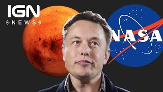 NASA Is Waiting For SpaceX To Prove Itself Before Lending Equipment - IGN News