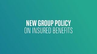 BNP PARIBAS // New group policy on insured benefits