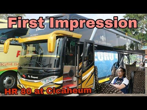 Hari Pertama PO Bus Haryanto Di Cicaheum, Bandung.