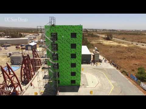 Six-story steel frame building undergoes seismic testing on world