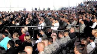 Air Force Space Command Head Quarters Change of Command August 14, 2014