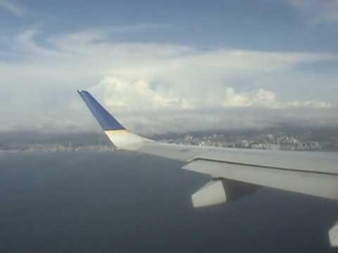 COPA AIRLINES EMBRAER 190 FLIGHT GUATEMALA CITY - PANAMA CITY (Part 2 - Landing)