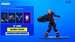 FORTNITE * NEW * SKIN MANDANTE..! (FORTNITE LOJA 19/08/19) Fortnite Battle Royale