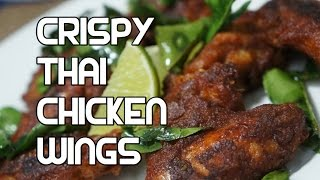 Thai Crispy Spicy Chicken Wings Recipe Video