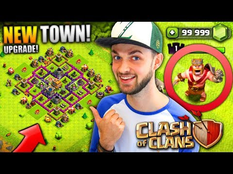 MY NEW TOWN HALL! (+ NEW HERO!) - Clash Of Clans