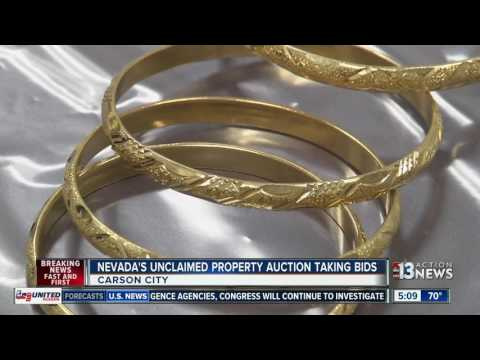 Nevada's unclaimed property auction now taking bids