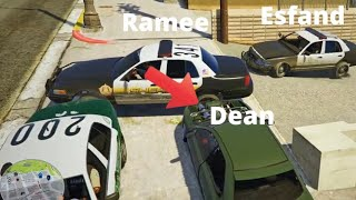 Getting Chase By Whole Police Department Because of Ramee... | Deansocool GTARP