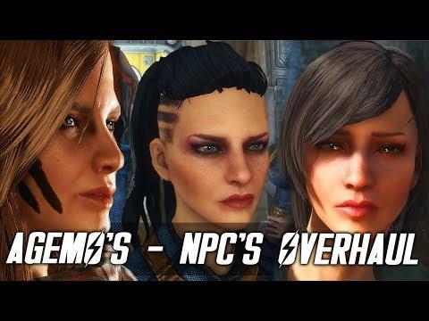 Fallout 4 - AGEMO'S NPCS - NPC Overhaul - Fallout Beauty Edition