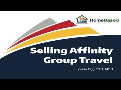 Selling Affinity Group Travel
