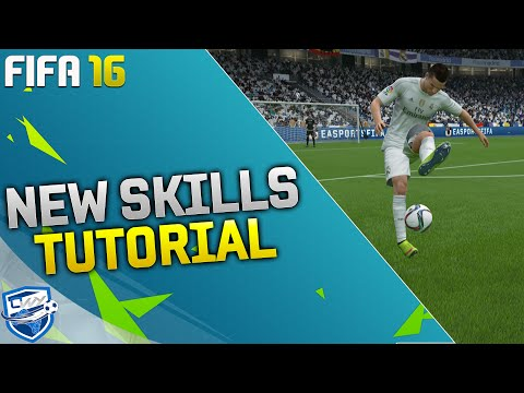 FIFA 16 NEW SKILLS TUTORIAL / ALL NEW SKILL MOVES & TRICKS