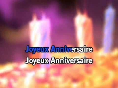 Karaoke( joyeux anniversaire)