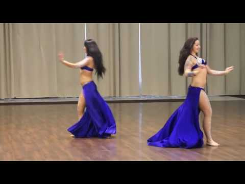Duet Oasis Dance Ebru Becker and Vera Ershova winners of an open cup on bellydance 2014 720p