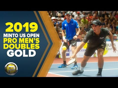 PRO Men's Doubles GOLD - 2019 Minto US Open Pickleball Championships - Aired On CBS Sports Network