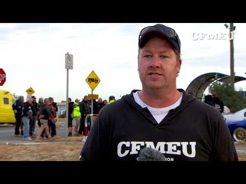 CFMEU protected action at Cleanaway Brooklyn