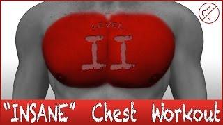 "Brustmuskeltraining ""INSANE EDITION"" - Niveau 2 - No Music"