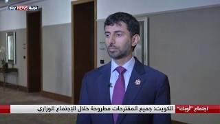 الإمارات: ملتزمون بأي قرار لتمديد خفض الإنتاج في أوبك