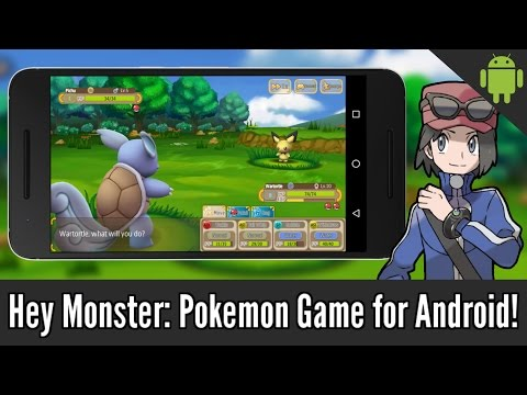 Hey Monster: Unofficial Pokemon Game for Android! (Gameplay + Download)