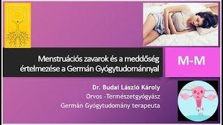 Menstruációs zavarok és a meddőség értelmezése a Germán Gyógytudománnyal